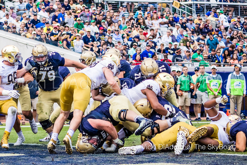 November 5, 2016 - Navy vs Notre Dame