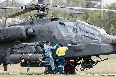 Exercise Wallaby 2016 - AH64D Apache