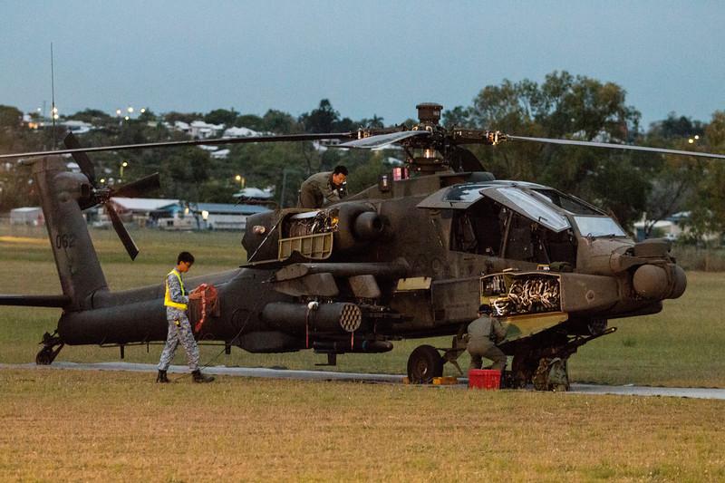 Exercise Wallaby 2016 - AH64D Apache
