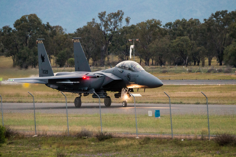 Exercise Wallaby 2016 - F15SG Strike Eagle