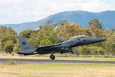 Exercise Wallaby 2016 - F15SG Eagle