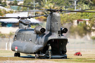 Exercise Wallaby 2016 - CH-47D Chinook