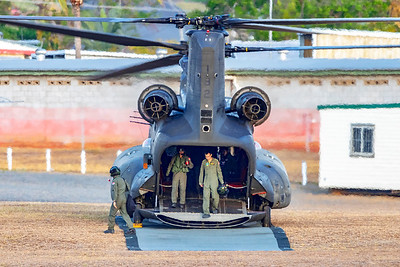 Exercise Wallaby 2018 - CH-47D Chinook