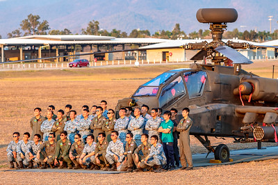 Exercise Wallaby 2018 - Apache Crew Group Photos