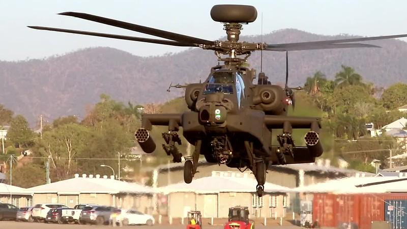 Exercise Wallaby 2018 - AH64D Apache