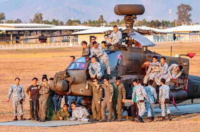 Exercise Wallaby 2018 - Apache Crew Group Photos