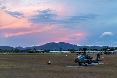 Exercise Wallaby 2018 - AH-64D Apache Sunset