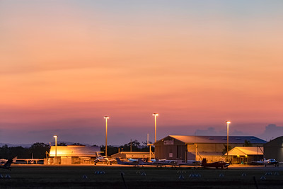 Rockhampton Airport Sunset