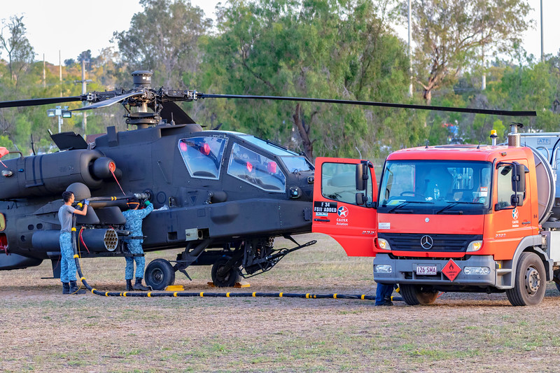 Exercise Wallaby 2018 - Apache Ground Crew
