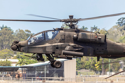 Exercise Wallaby 2018 - AH64 Apache Check Flight