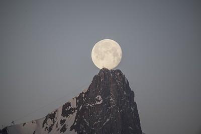 Monduntergang Stockhorn