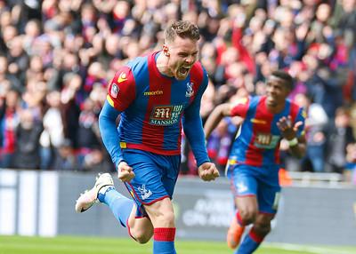 Connor Wickham celebrates after scoring winner