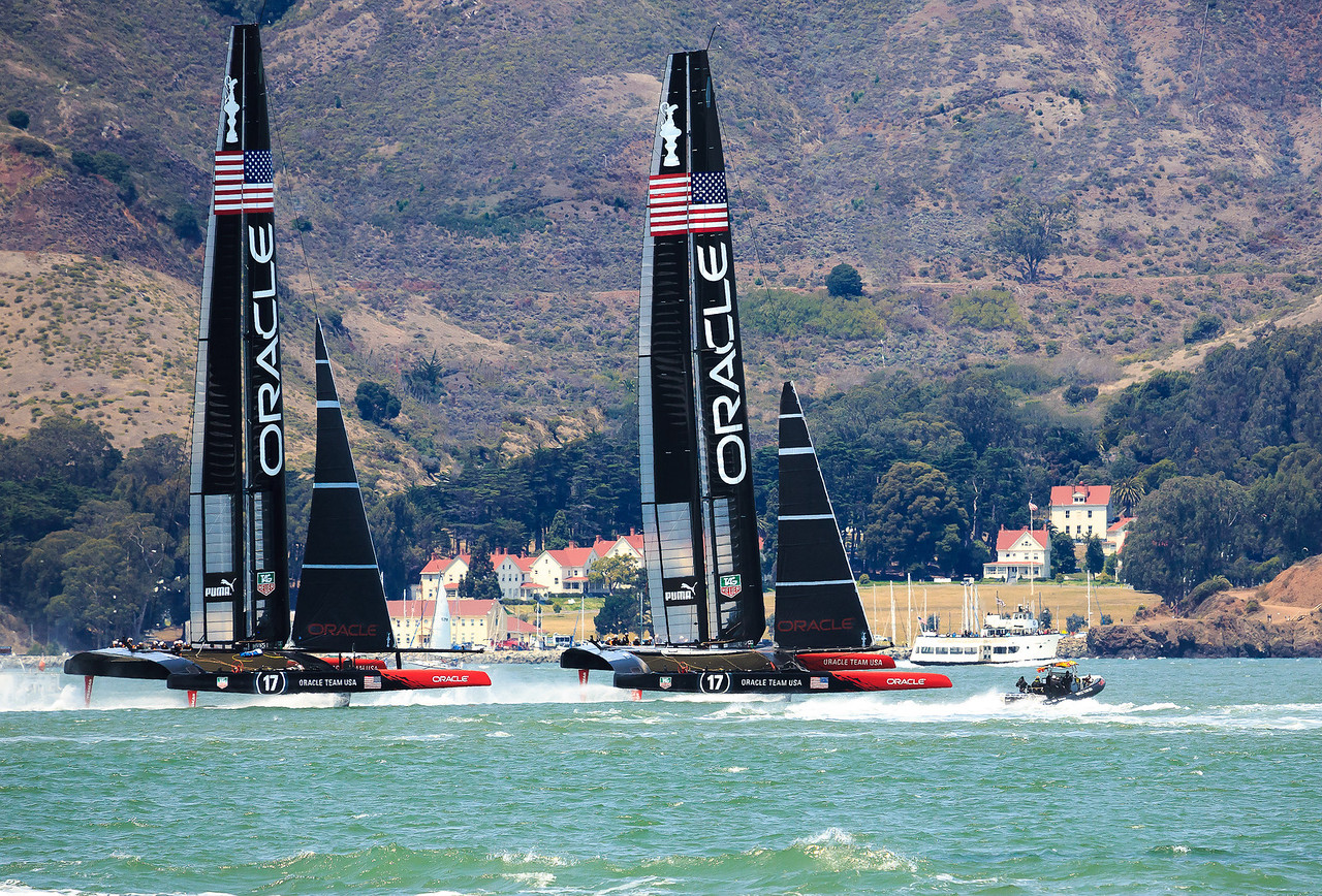 Oracle 72's Passing Cavallo Point