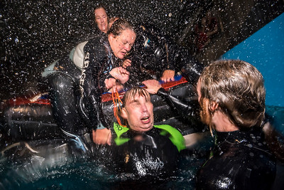 Get Wet Indoor survival training, The Netherlands.