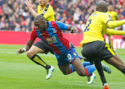 Bolasie goes flying