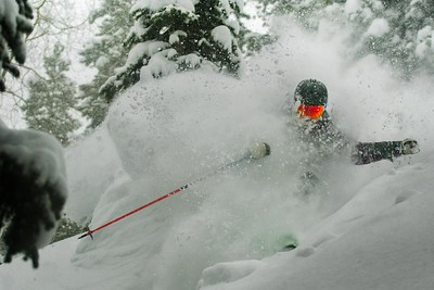 Victor Major, Aspen Backcountry, Pow Shot