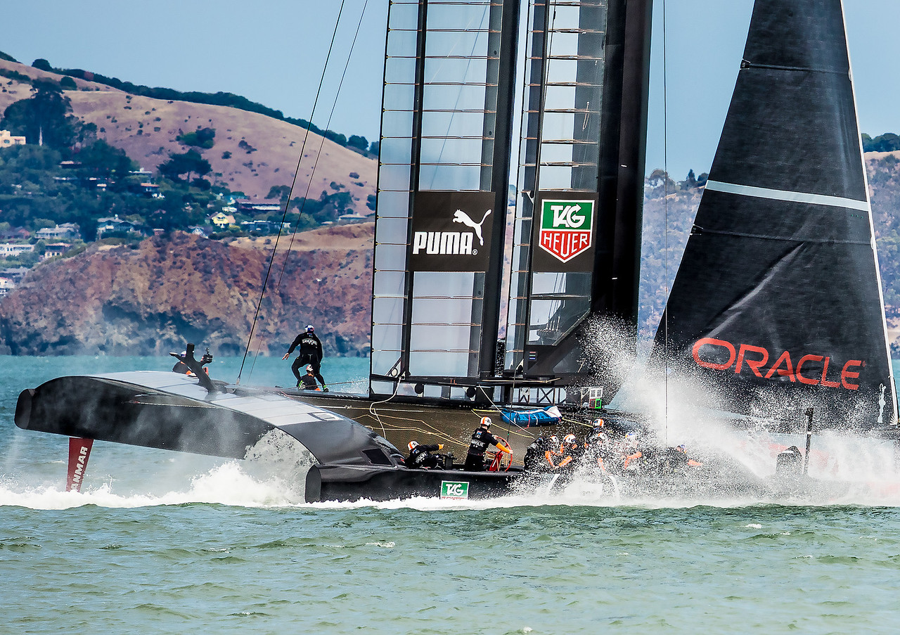 Team Oracle USA AC72