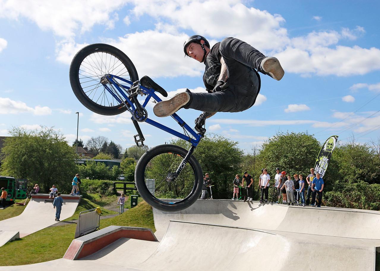 Pro BMX rider Mat Armstrong