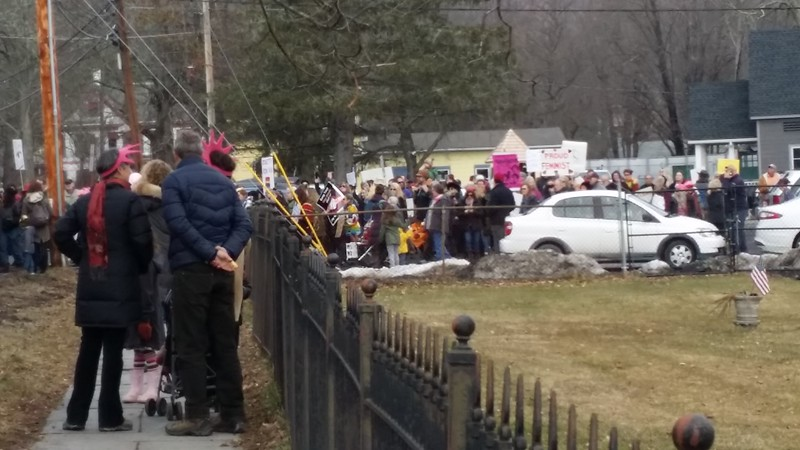 Women's March January 21, 2017 - Woodstock