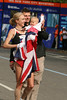 Paula Radcliffe (women's marathon world record holder) and family celebrate a NYCM win in 2007.