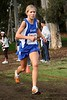 Jordan Hasay won as a freshman in 2005. She placed 3rd in 2007. It's hard to get a photo of her racing with her tongue in!