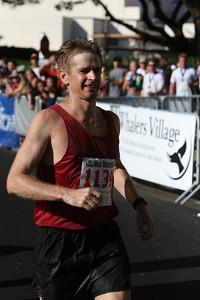 Maui marathon winner.