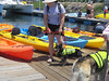 Pups preparing to paddle!