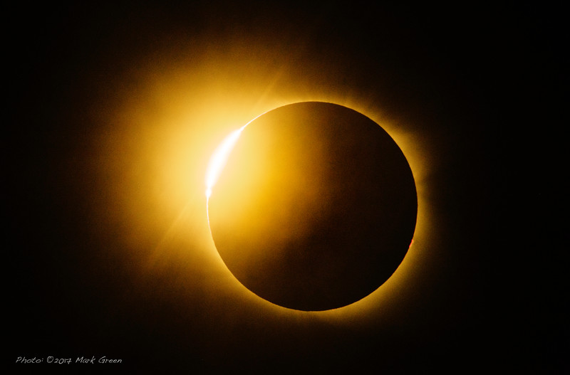 The Great American Eclipse by Mark Green. Date: August 21, 2017