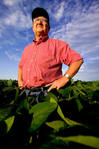 Soybean farmer, Illinois.