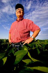 Soybean farmer, Illinois.