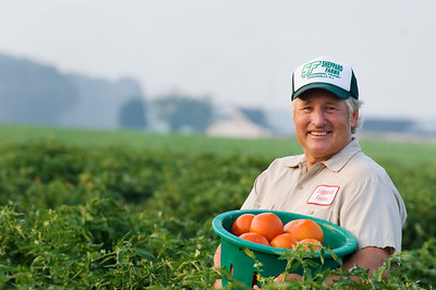 Monsanto Comapny Annual Report Photography Location: Sheppard Farms. Swedesboro, NJ. USA     Rep: Joe Rucker Date: 8.1.06 Photo: Mark Green/MGP2