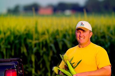 Corn farmer, Iowas.