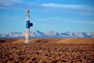 Oil Drilling Wyoming.