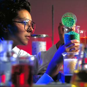 Lab Worker.