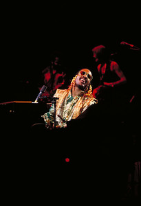 Stevie Wonder ca. 1978.  ©2019 Mark Green