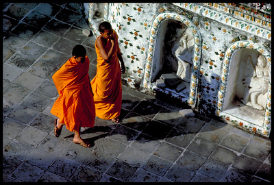 Monks, Bangkok.