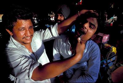 New Delhi Street Dentistry.