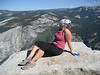 I totally climbed Half Dome and own this rock right now!