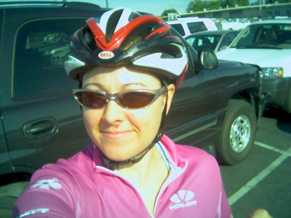 Before the ride 8:30am - looking fairly fresh