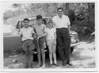 Vitó Valente, Mário, Paula e Dr. Santos David