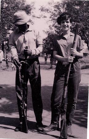 Maleço e Gininha Almeida Santos - Dundo férias de 1964