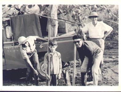 Serração Luena (?) -1967 (?) Morgado, Patrão e filho, Dias Mendes