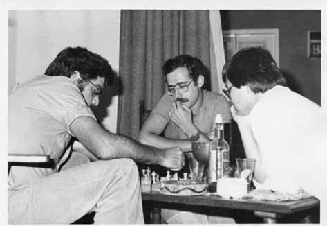 Luis Maldonado Ferreira, Vitor Capela e Alberto Leong