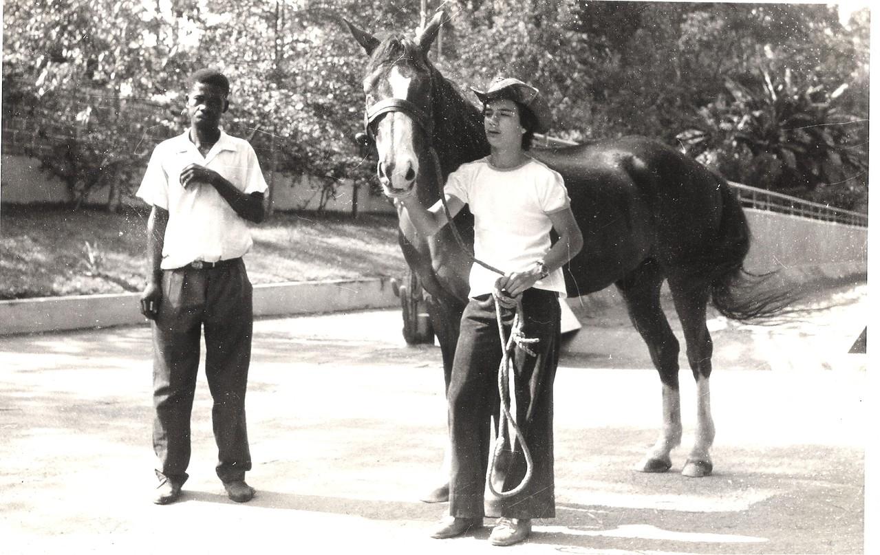?, Ruca Mendonça e Zarco ( cavalo zarolho)