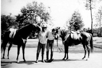 Vitó e Pipas na rua dos cavalos