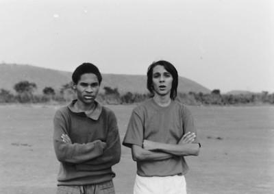 Jogo Andrada-Dundo em 27-07-1974  (resultado 0-4) Jorge Oliveira e Joao Pereira