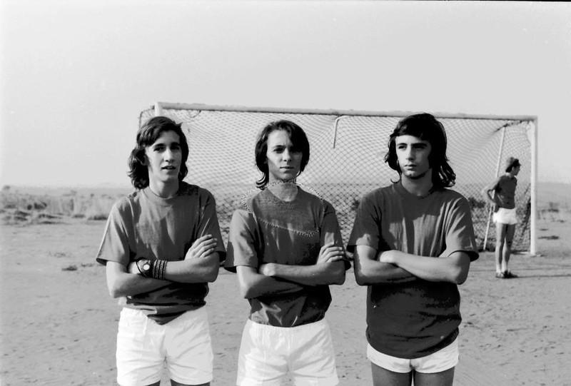 Jogo Andrada-Dundo em 27-07-1974  (resultado 0-4)  Tó Zé Nogueira, João Pereira,  António Joaquim,