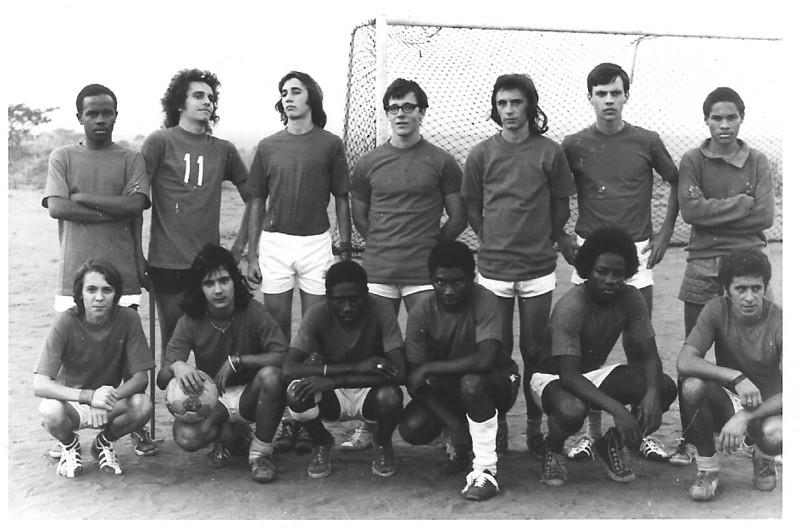 Jogo Andrada-Dundo em 27-07-1974  (resultado 0-4)