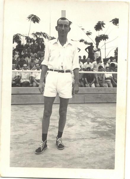 Arbitro Fernando Ribeiro no Luxilo