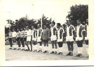 Jogo de futebol no Luxilo
